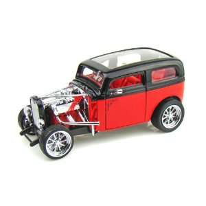 1931 Ford Model A Custom 1/18 Black/Red Toys & Games