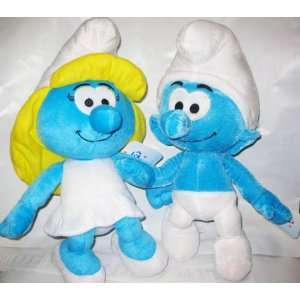 The Smurfs 14 Plush toy 2 Pcs set    Smurfette , Smurf Toys & Games