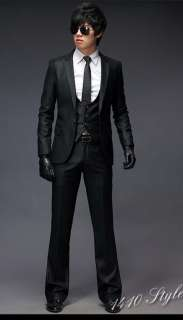 NWT Mens Slim Luxury Premium Quality Three Piece Suits