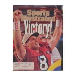 Steve Young autographed Sports Illustrated Magazine (San
