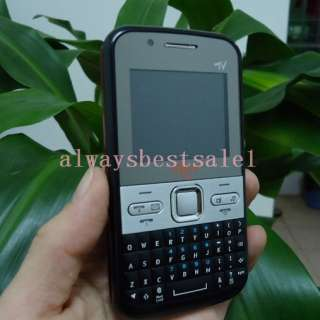 Unlocked Quad band GSM Dual Sim cell phone TV Qwerty keyboard AT&T