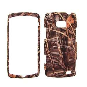 VERIZON LG ALLY DRY LEAVES CAMO CAMOUFLAGE HUNTER HARD PROTECTOR SNAP