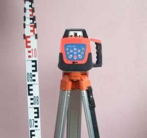 Self leveling Rotary/ Rotating Laser Level+Tripod+staff