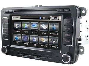 Din Car DVD/GPS Player VW GOLF/PASSAT/TIGUAN