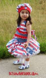 Pageant Casual Wear Doll RWB OOC Patriotic casual wear