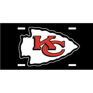 Custom License plate NFL Kansas City Chiefs