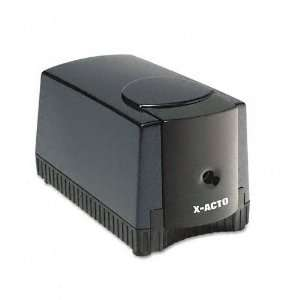 ACTO® Deluxe Heavy Duty Desktop Electric Pencil Sharpener, Black