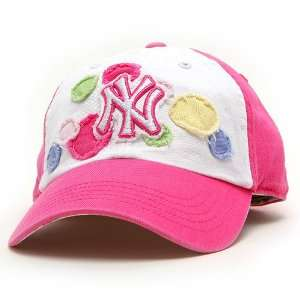 New York Yankees Jubilee Toddler Cap   White/Pink Toddler