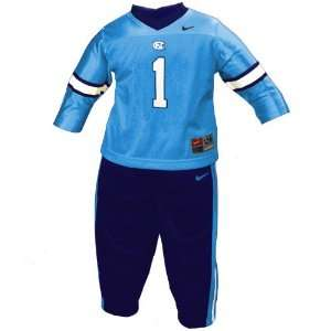 Nike North Carolina Tar Heels (UNC) #1 Infant 2 Piece Football