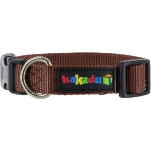 Empire Adjustable Nylon Dog Collar, 1 x 20 34, Earth (Brown) Pet