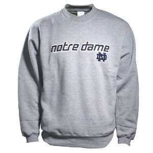 Adidas Notre Dame Fighting Irish Ash Velocity Crew