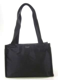 KATE SPADE Black Abigail Nylon Tote Diaper Bag Handbag