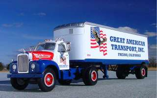VR   GREAT AMER. TRANSPORT Mack B61 Semi   First Gear