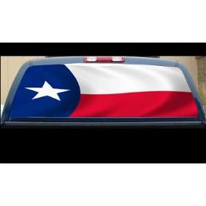 State of Texas Flag   Lone Start State 22 x 65   Rear Window Graphic