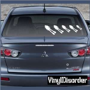 Family Decal Set Diving 01 Stick People Car or Wall Vinyl