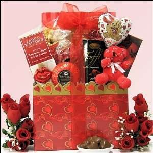 Kisses & Hugs Wedding Anniversary Gift Basket