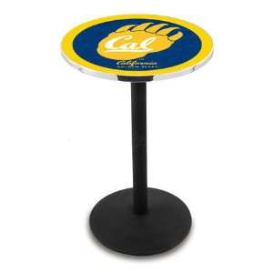 42 Cal Bar Height Pub Table   Round Base  Sports
