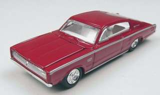 1967 DODGE CHARGER (RED) 187th/HO SCALE DIE CAST