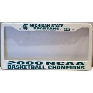 NCAA Michigan State Spartans 2000 Basketball Champs