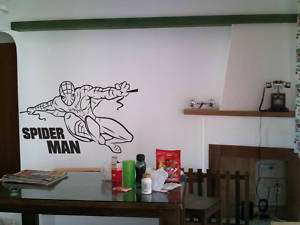 SPIDERMAN COMICS HERO Wall MURAL Vinyl Decal Sticker 1
