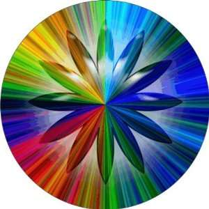 Rainbow Crystal Art   Fridge Magnet   Fibreglass reinforced plastic