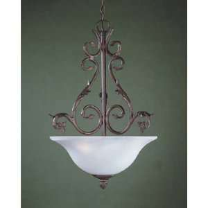 American Victorian Collection Hanging Globe Light Fixture