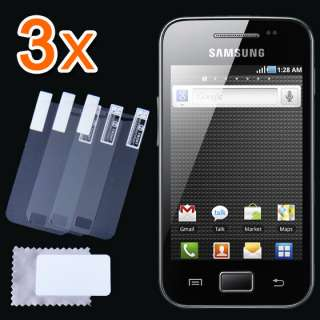 New 3x CLEAR LCD Screen Protector Guard Cover Film for Samsung Galaxy