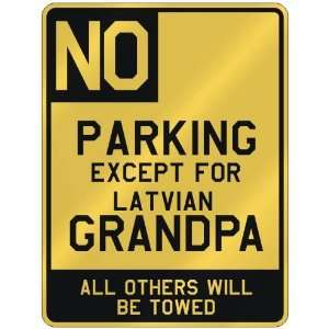 FOR LATVIAN GRANDPA  PARKING SIGN COUNTRY LATVIA
