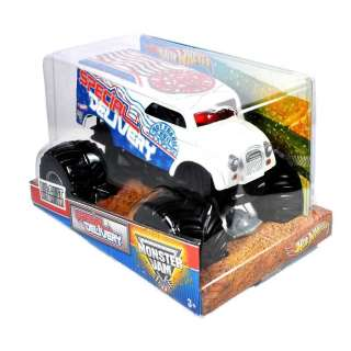 WHEELS MONSTER JAM Special Delivery 124 SCALE diecast MONSTER TRUCK