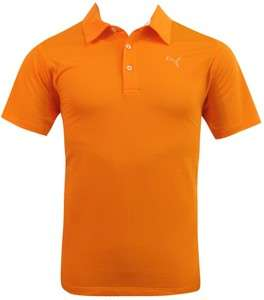 Puma Mens Tech Golf Polo Shirts   3 NEW Colors Available   NEW