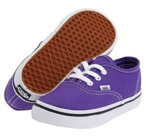 Vans Authentic Purple Passion Flower Infants Toddler Baby Girls Boys