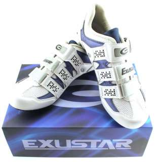 EXUSTAR E SR232 Mens Road Cycling Shoes Carbon 44 NEW