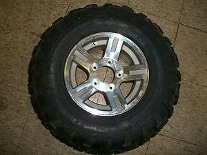 JOHN DEERE ALUMINUM ALLOY WHEEL FOR JOHN DEERE GATOR WITH CARLISLE
