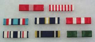 US Pre Civil War Campaign Medal Ribbons,Battle Streamer