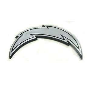 San Diego Chargers NFL Silver Auto Emblem Sports