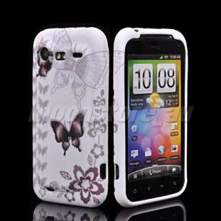 NEW SOFT TPU GEL CASE COVER FOR HTC INCREDIBLE S G11 45