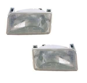 Fits Ford Bronco / Pickup Headlamp Head Light Headlight   PAIR