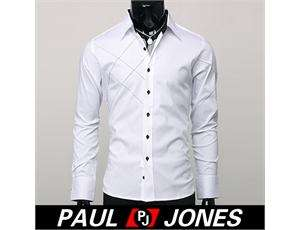 Classic style Luxury Fashion Mens Casual slim fit Formal/Dress Shirt