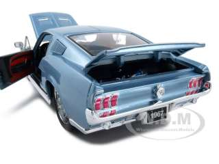 1967 FORD MUSTANG GTA FASTBACK BLUE 118 PRO RODZ