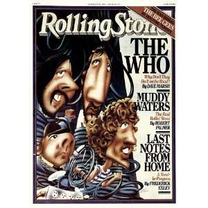 The Who, 1978 Rolling Stone Cover Poster by Robert