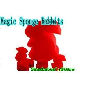 magic sponge rabbits magic toys magic props magic tricks