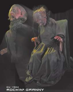 Rockin Granny Animatronic Prop   Haunted House Props   15DU1924
