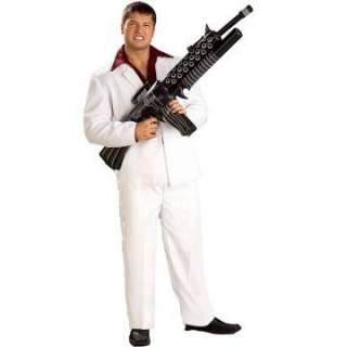 Tony Montana Inflatable Tommy Gun   Includes one inflatable toy Tommy