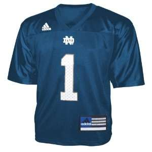 Adidas Notre Dame Fighting Irish #1 Navy Infant Replica Football