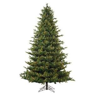 7.5 Pre Lit Oregon Pine Artificial Christmas Tree with