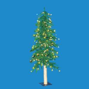 Alpine Artificial Christmas Tree   Clear Lights