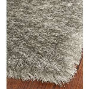 SG511 7575 Silver Shag Area Rug, 3 Feet by 5 Feet