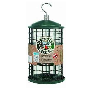 Seed Fort Steel Bird Feeder