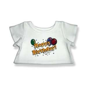 Happy Birthday T Shirt Outfit Teddy Bear Clothes Fit 14