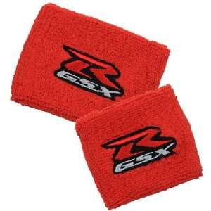 Suzuki GSXR Red Brake/Clutch Reservoir Sock Cover Set Fits GSXR, GSX R